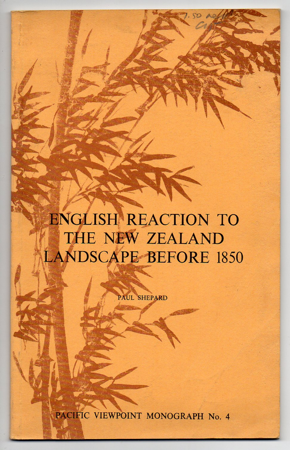 Image for English Reaction to the New Zealand Landscape before 1850
