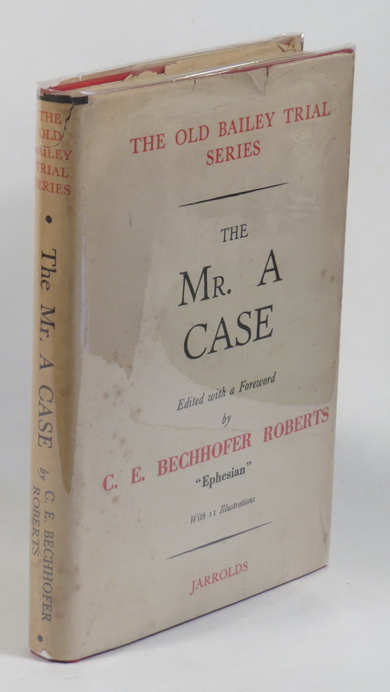 Image for The Mr. A Case