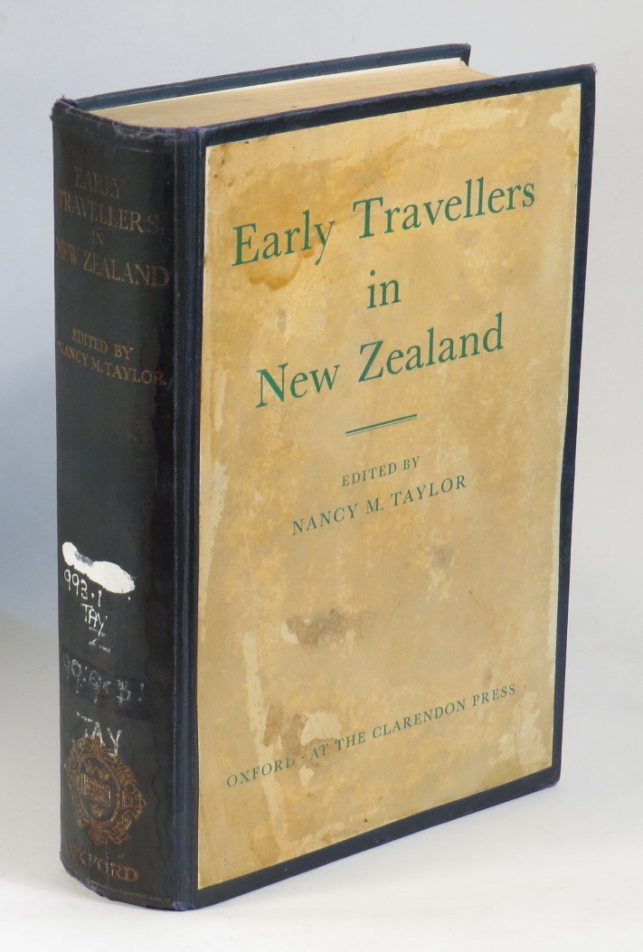 Image for Early Travellers in New Zealand