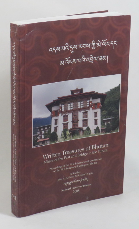 Image for Written Treasures of Bhutan - Mirror of the Past and Bridge to the Future