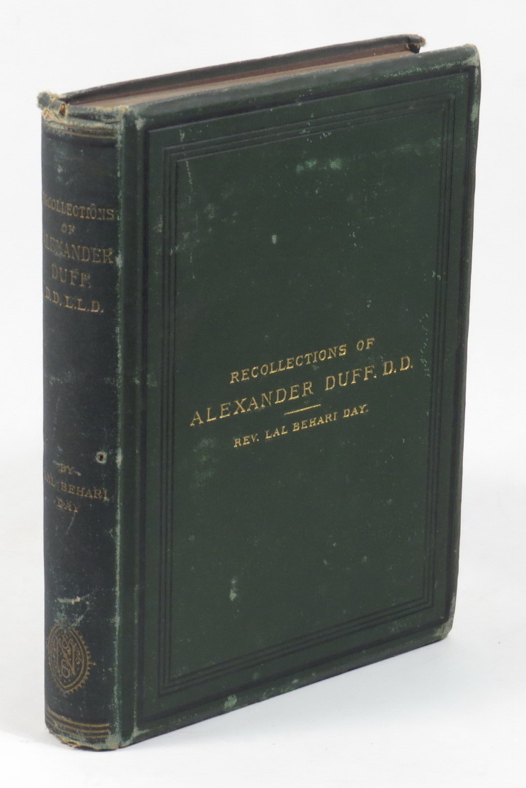 Image for Recollections of Alexander Duff, D.D., LL.D., and of the Mission College Which He Founded in Calcutta