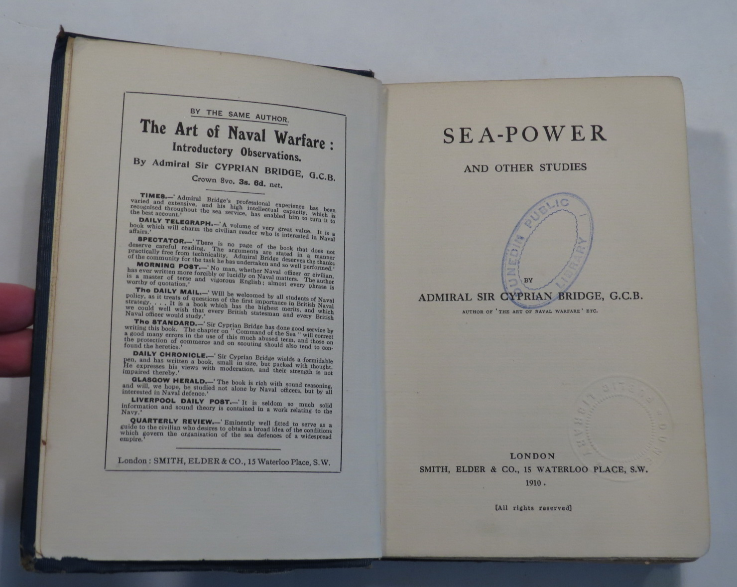 Image for Sea-Power and Other Studies