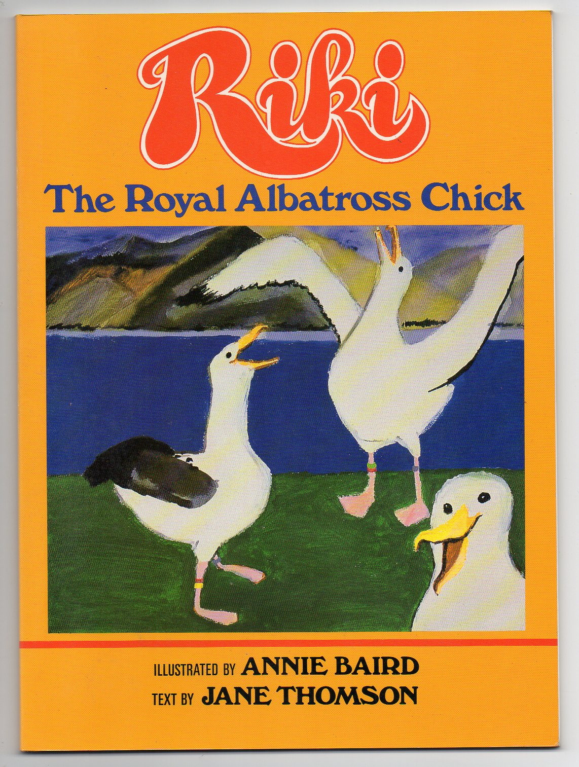 Image for Riki - The Royal Albatross Chick