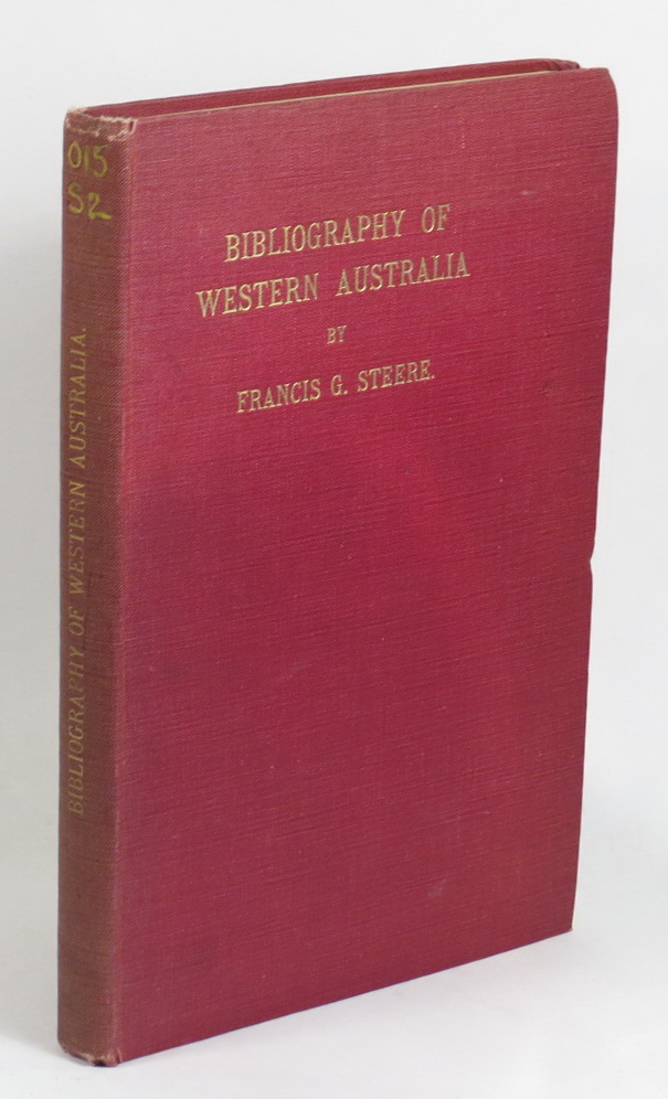 Image for Bibliography of Books, Articles, and Pamphlets Dealing with Western Australia - Issued since its discovery in 1616