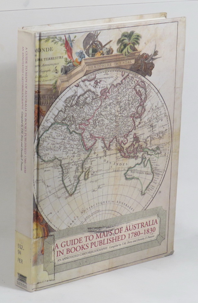Map Of Australia 1830.A Guide To Maps Of Australia In Books Published 1780 1830 An Annotated Cartobibliography