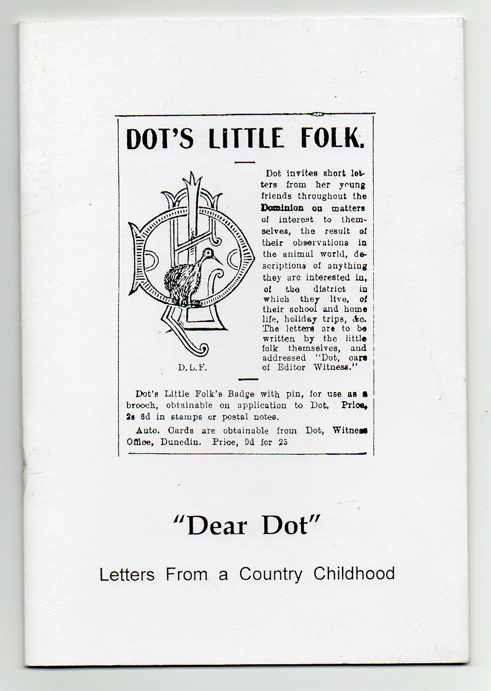 "Image for ""Dear Dot"" - Letters from a Country Childhood"