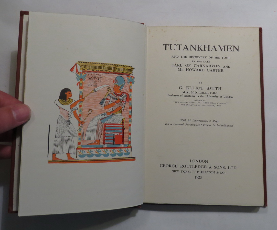 Image for Tutankhamen and the Discovery of his Tomb by the Late Earl of Carnarvon and Mr Howard Carter