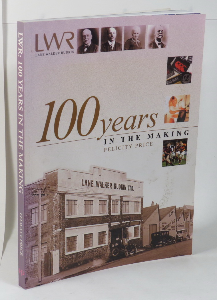Image for Lane Walker Rudkin - 100 Years in the Making