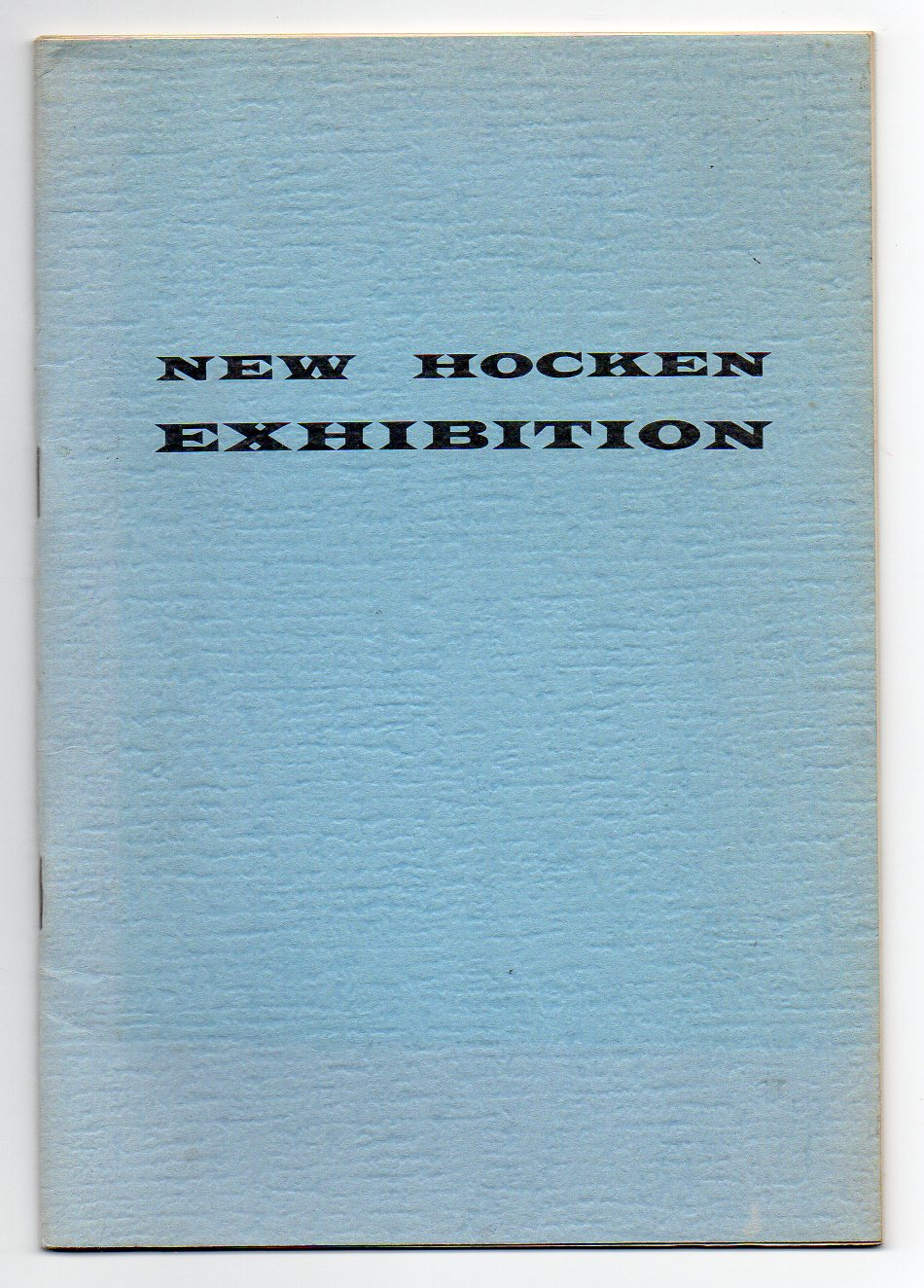 Image for New Hocken Exhibition