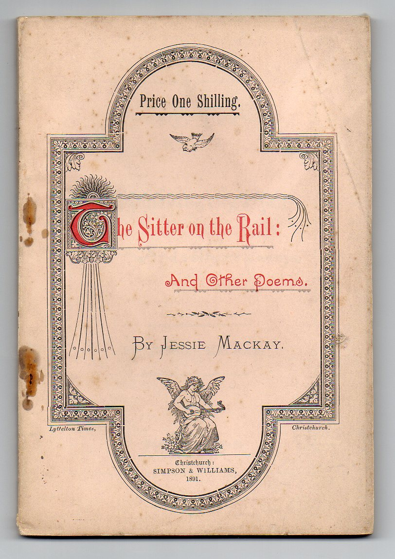 Image for The Sitter on the Rail: and Other Poems