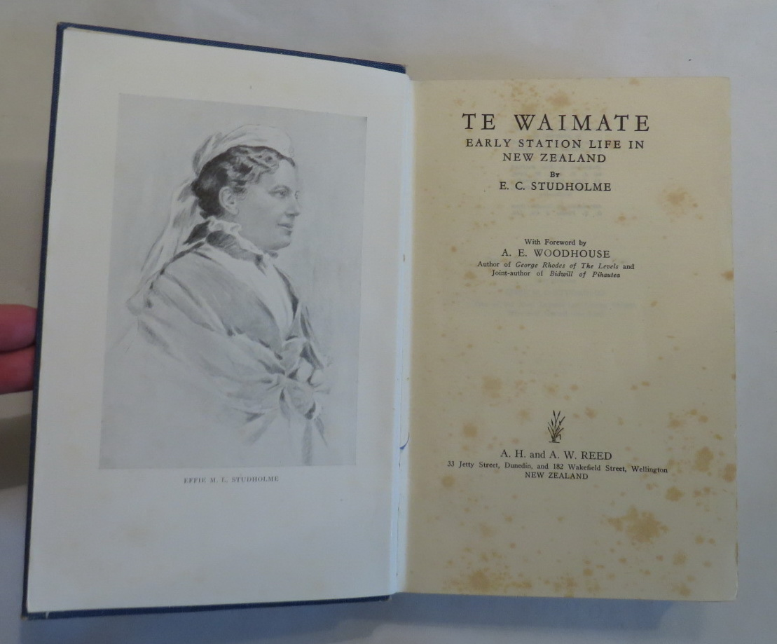 Image for Te Waimate: Early Station Life in New Zealand