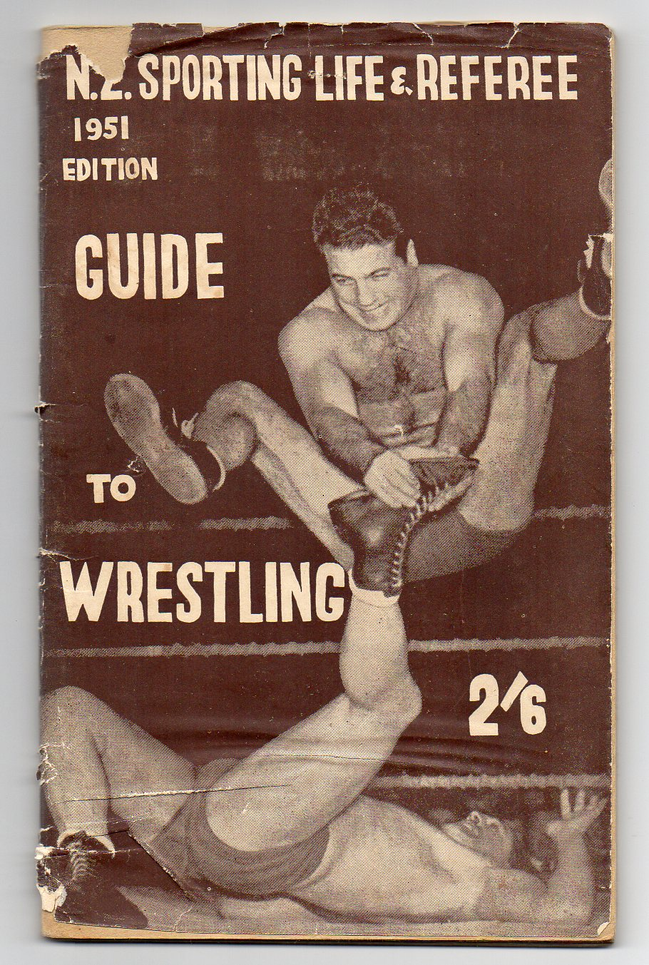Image for Sporting Life Guide to Wrestling - 1951 Edition
