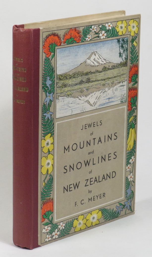 Image for Jewels of Mountains and Snowlines of New Zealand
