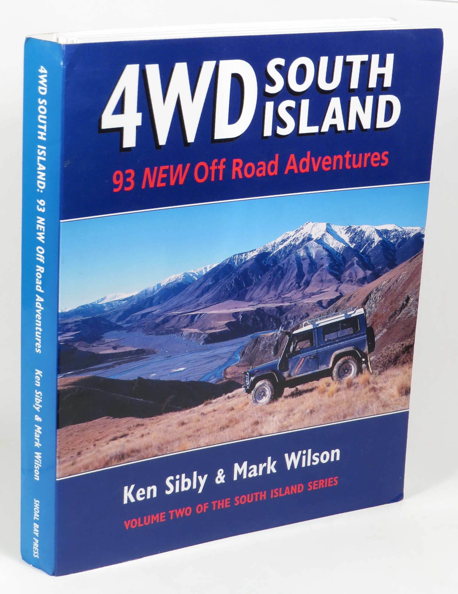 Image for 4WD South Island: 93 New Off Road Adventures