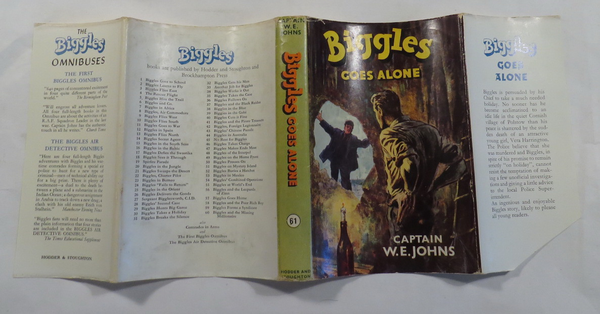 Image for Biggles Goes Alone