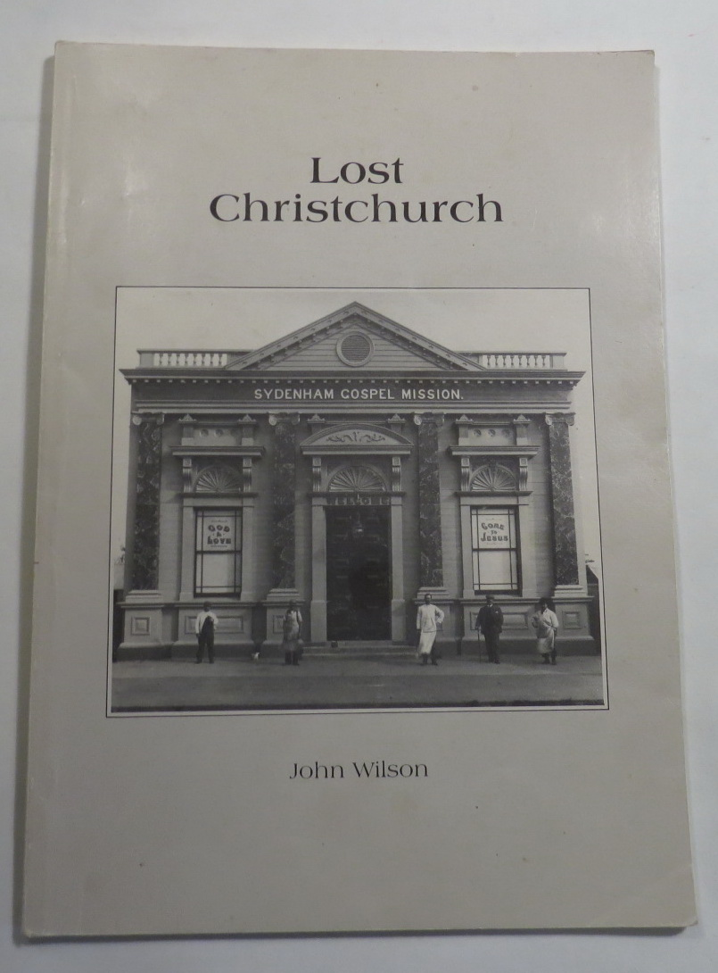 Image for Lost Christchurch