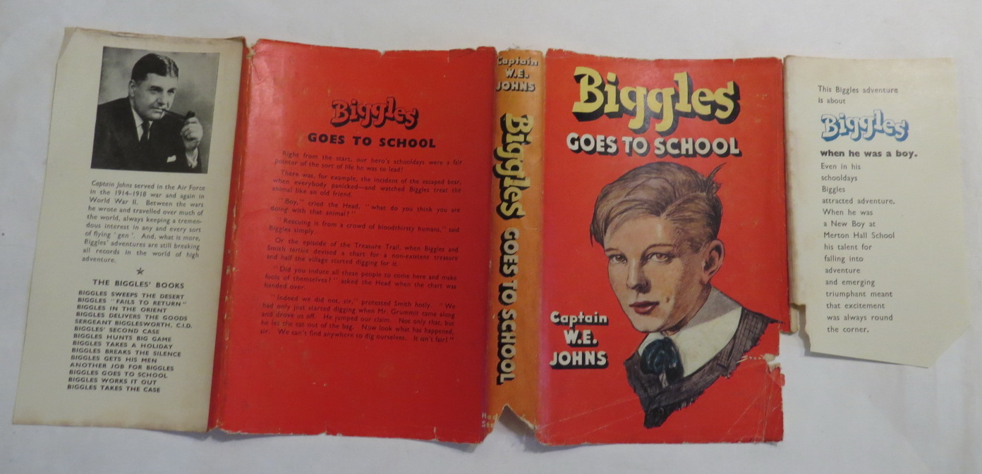 Image for Biggles Goes to School - The Story of Biggles' Early Life and School Days