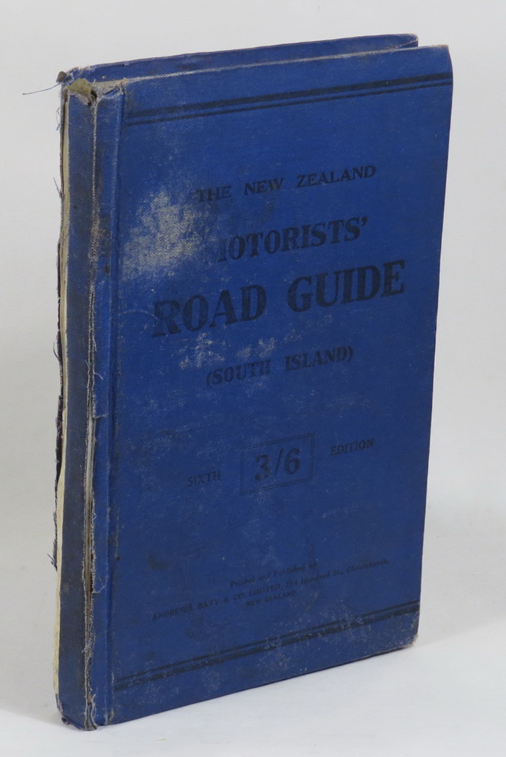 Image for The New Zealand Motorists' Road Guide (South Island). Sixth Edition.