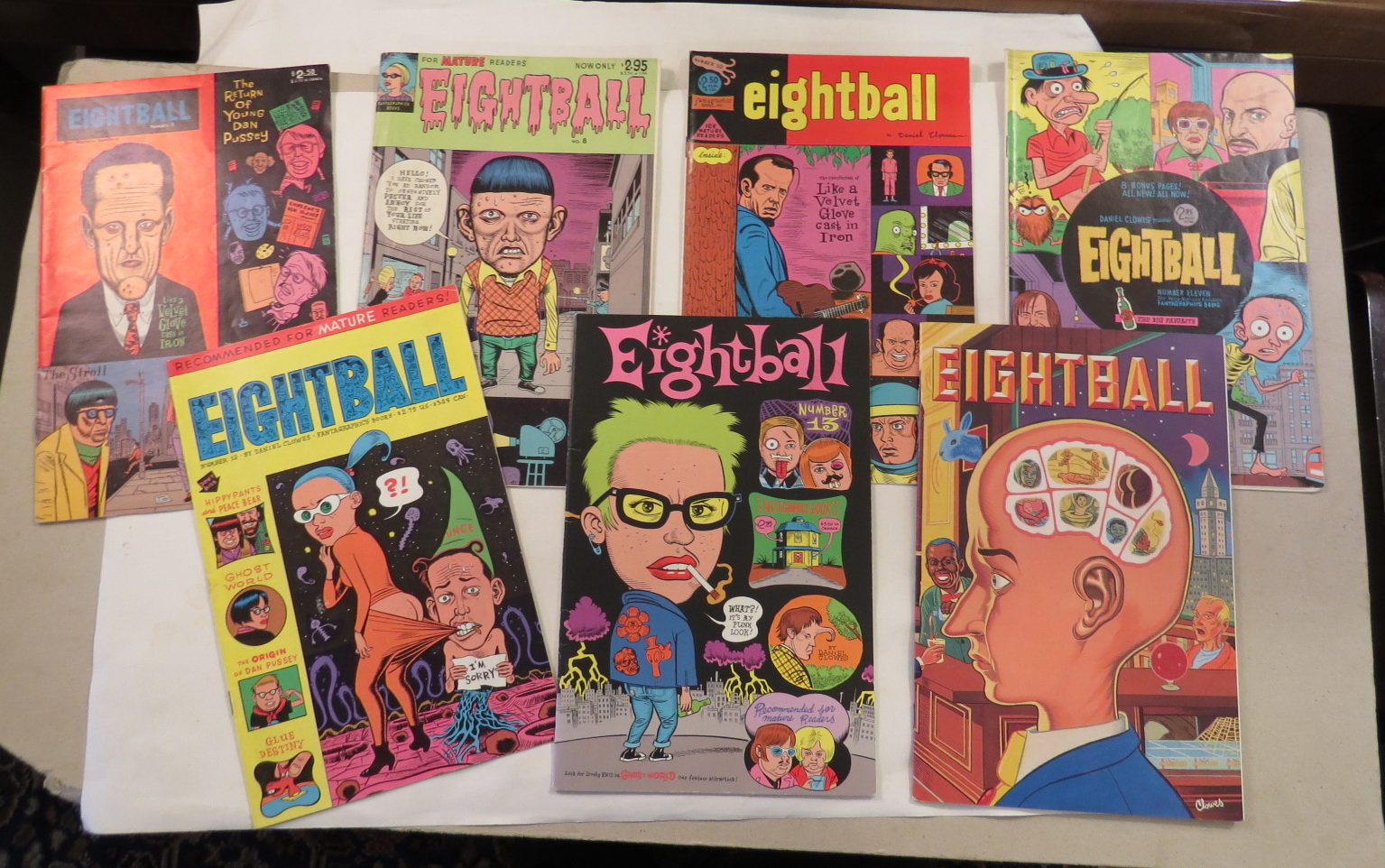 Image for Eightball [7 issues - Nos. 3, 8, 10, 11, 12, 13, 17]