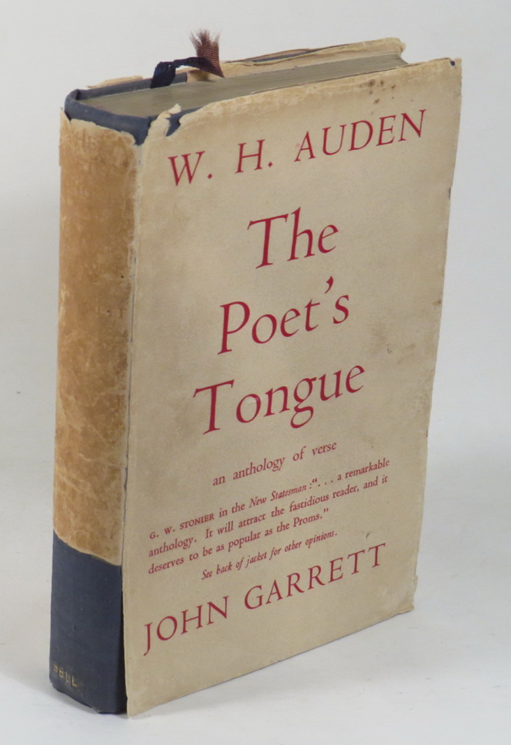 Image for The Poet's Tongue - An Anthology chosen by W. H. Auden and John Garrett