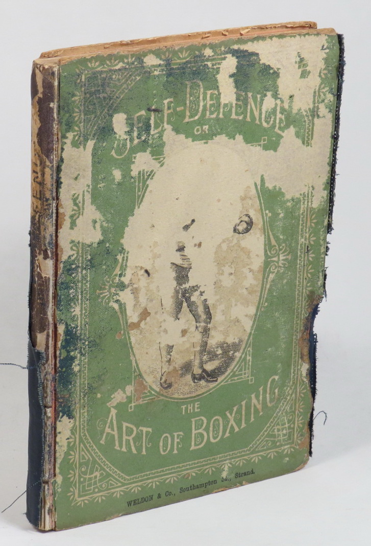 Image for Self-Defence; or, The Art of Boxing. With Illustrations, Showing the Various Blows, Stops, and Guards.