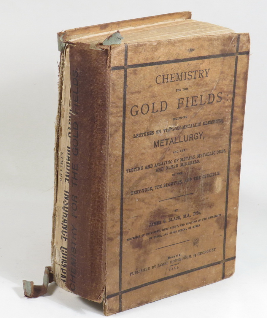 Image for Chemistry for the Gold Fields: Including Lectures on the Non-Metallic Elements, Metallurgy, and the Testing and Assaying of Metals, Metallic Ores and Other Minerals