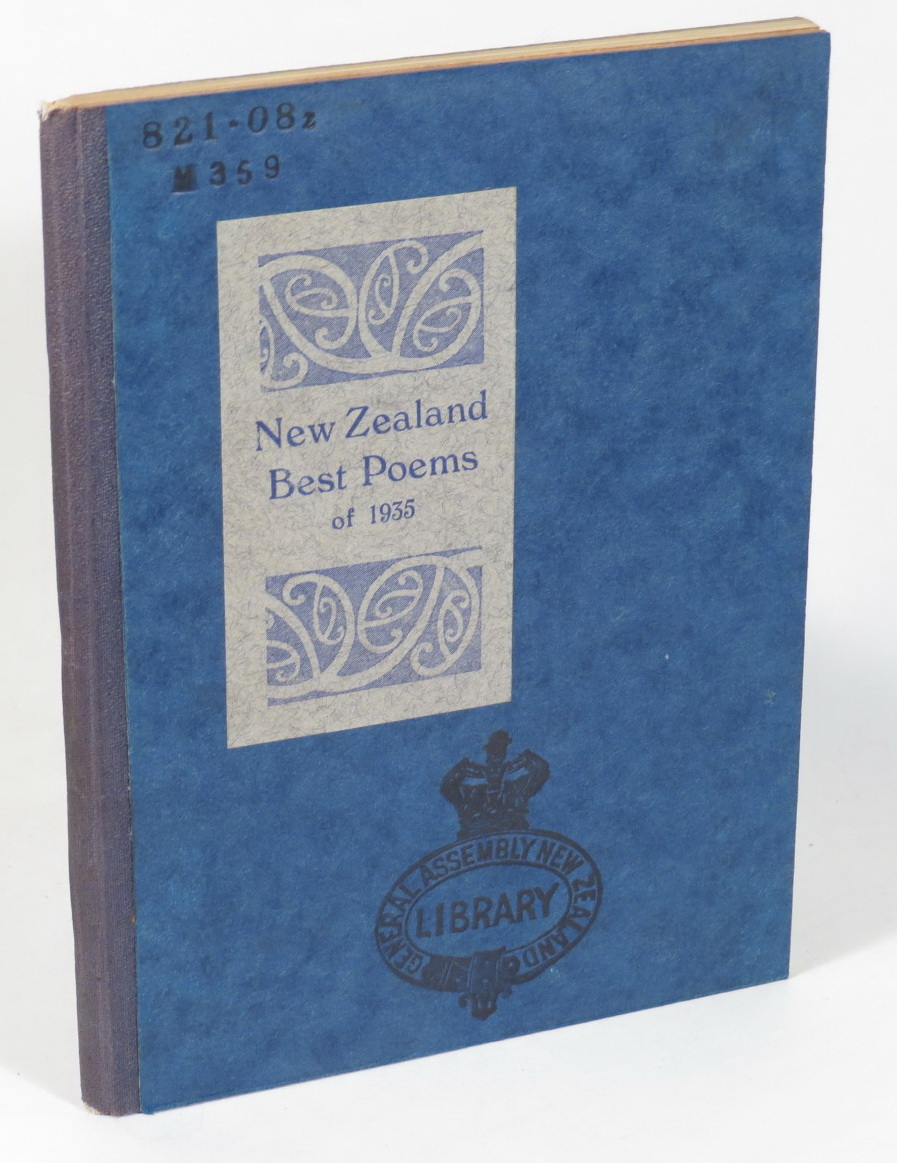 Image for New Zealand Best Poems of 1935 - Chosen by C. A. Marris
