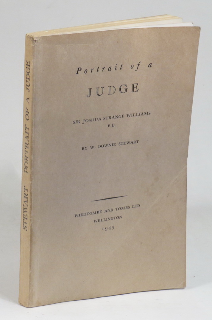 Image for Portrait of a Judge -  Sir Joshua Strange Williams P.C.