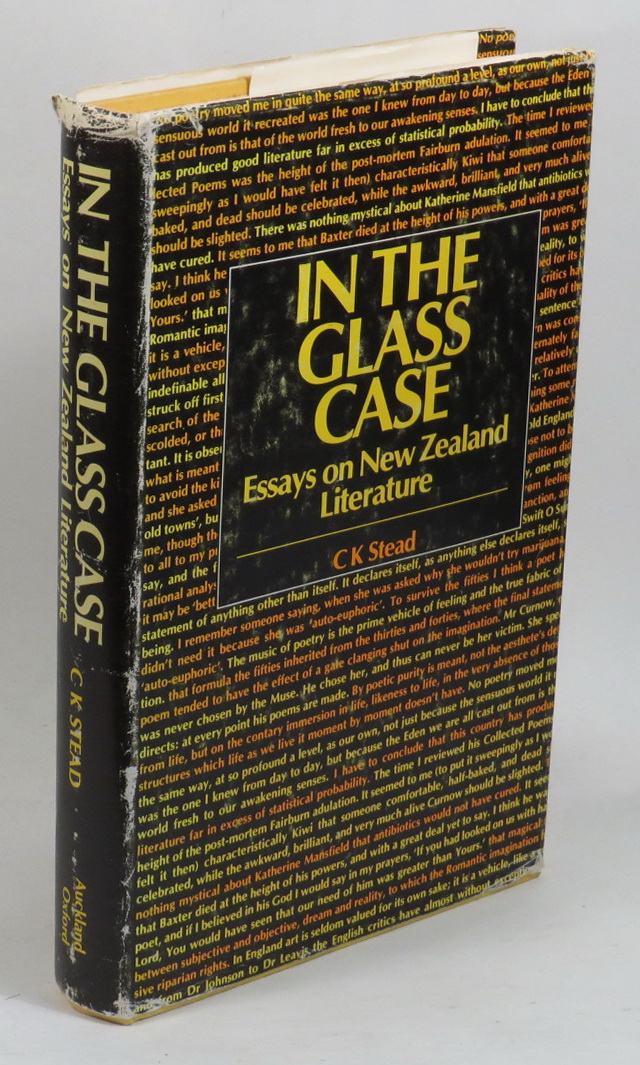 Image for In the Glass Case - Essays on New Zealand Literature