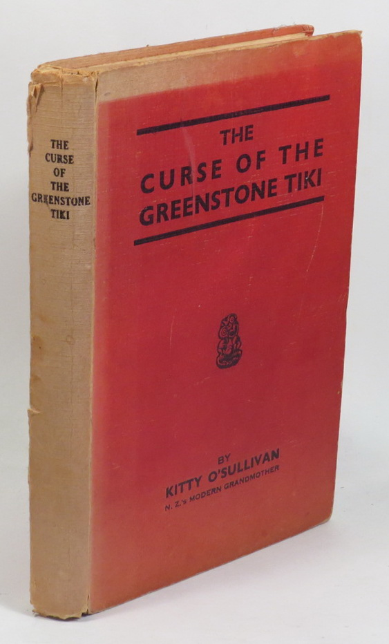 Image for The Curse of the Greenstone Tiki