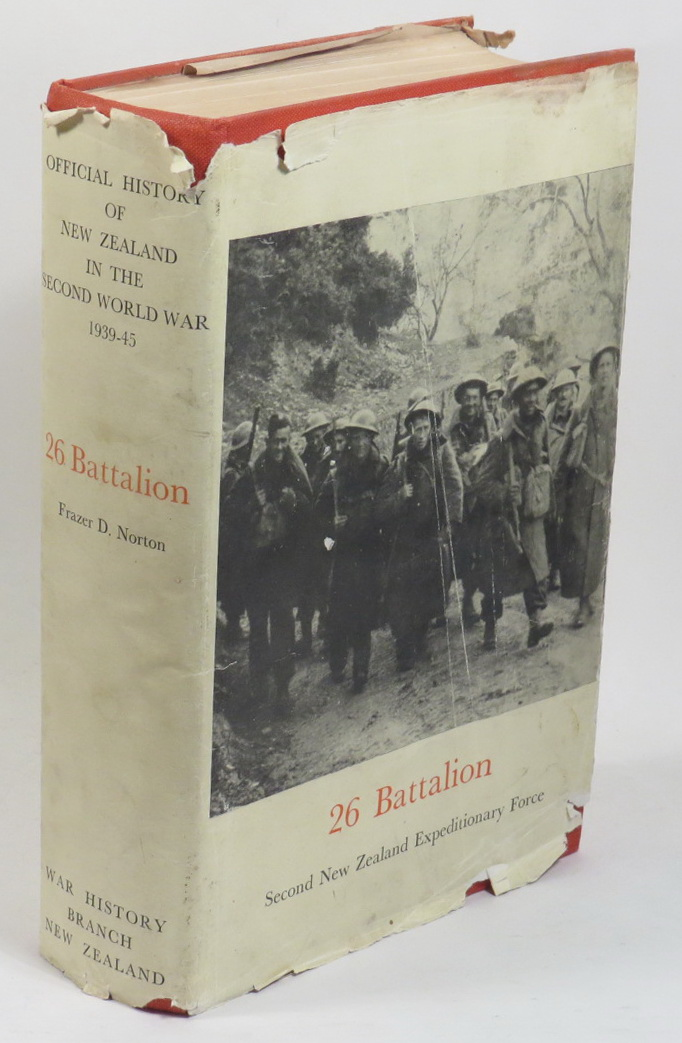 Image for 26 Battalion [Series Title: Official History of New Zealand in the Second World War 1939-45]