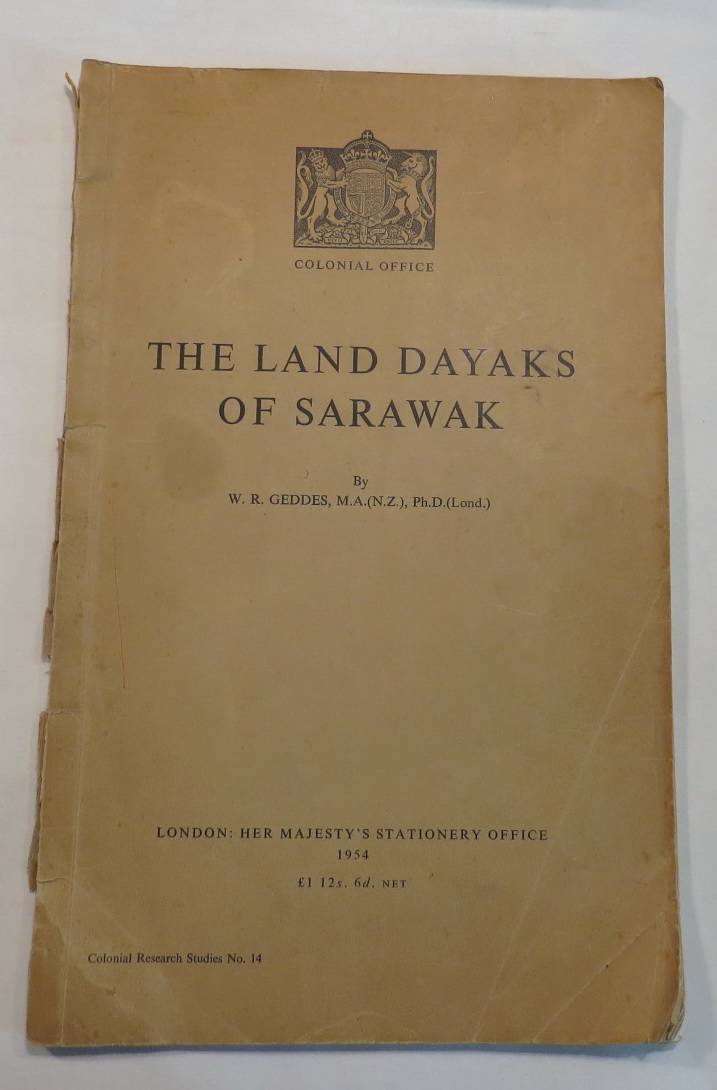 Image for The Land Dayaks of Sarawak