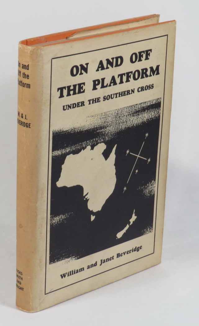 Image for On and Off the Platform - Under the Southern Cross