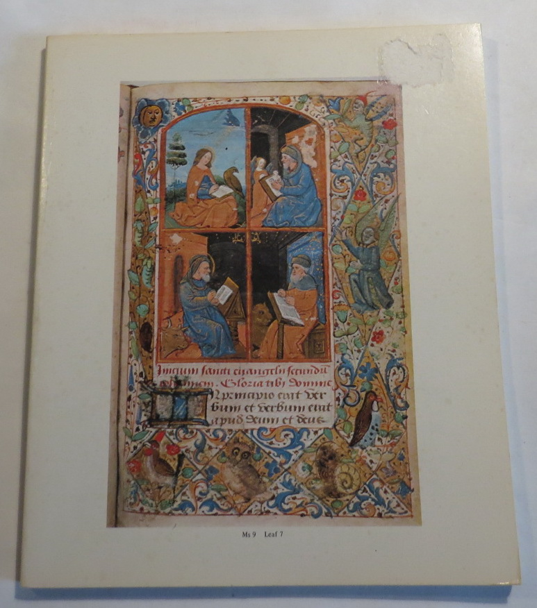 Image for A Catalogue of Mediaeval Manuscripts and Printed Bibles in The Alfred and Isabel Reed Collection - Dunedin Public Library