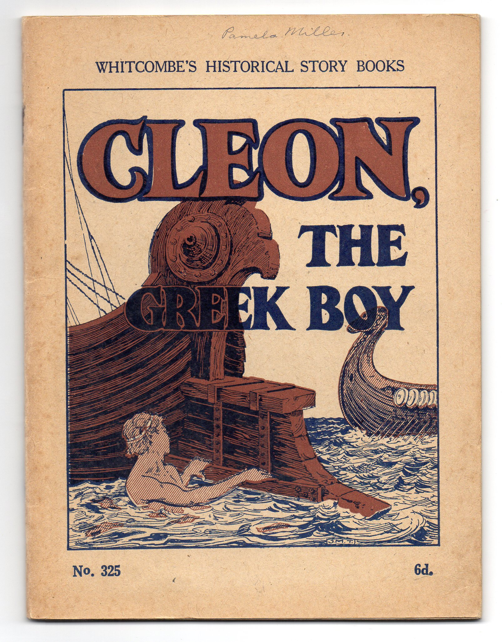 Image for Cleon, The Greek Boy
