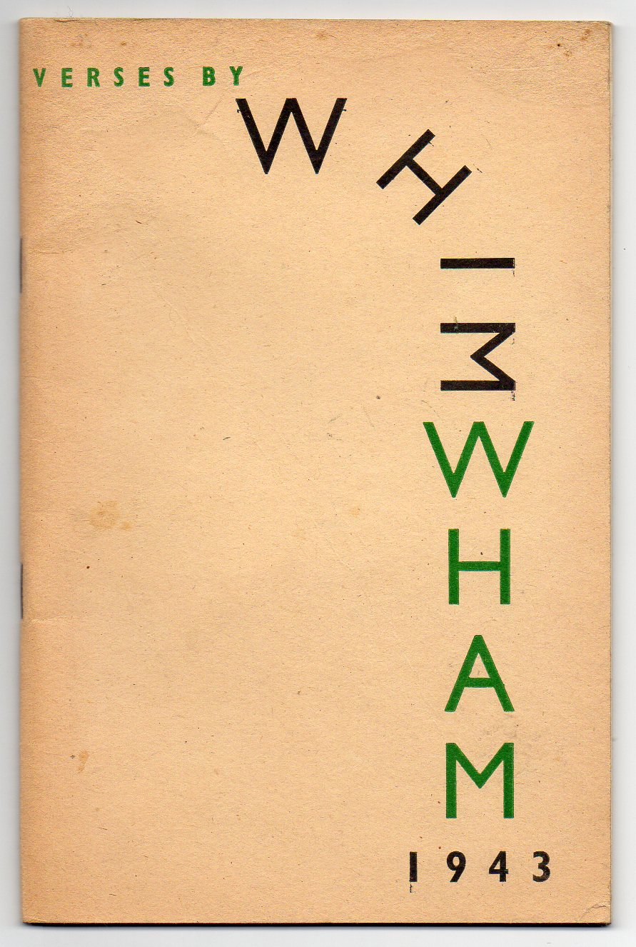 Image for Whim Wham - 1943