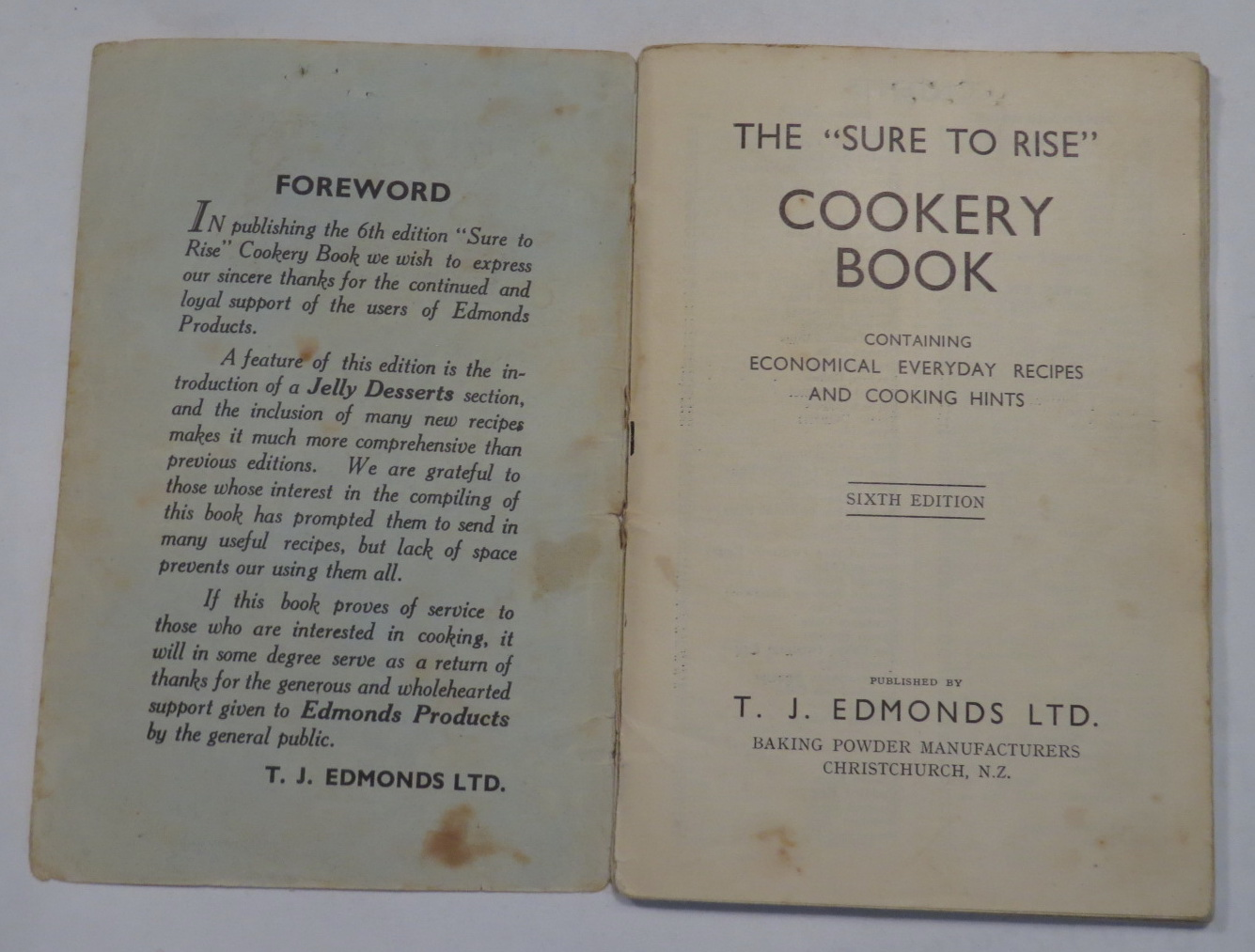 "Image for The ""Sure to Rise"" Cookery Book - Containing Economical Everyday Recipes and Cooking Hints"