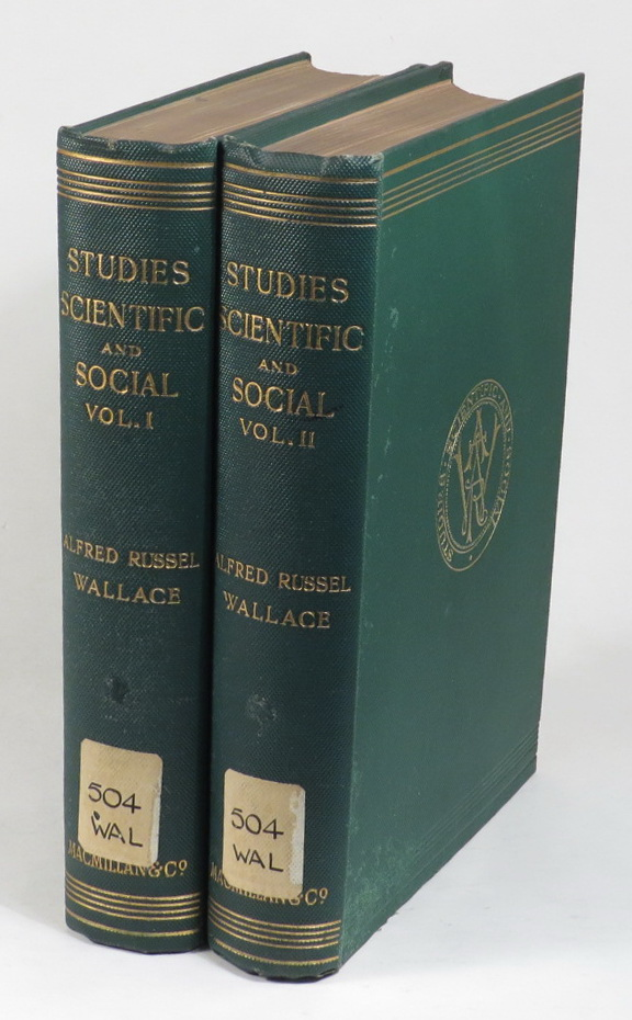 Image for Studies - Scientific & Social [Two volumes]
