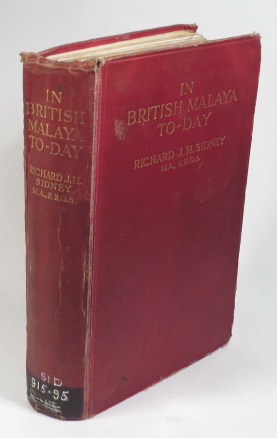 Image for In British Malaya To-Day