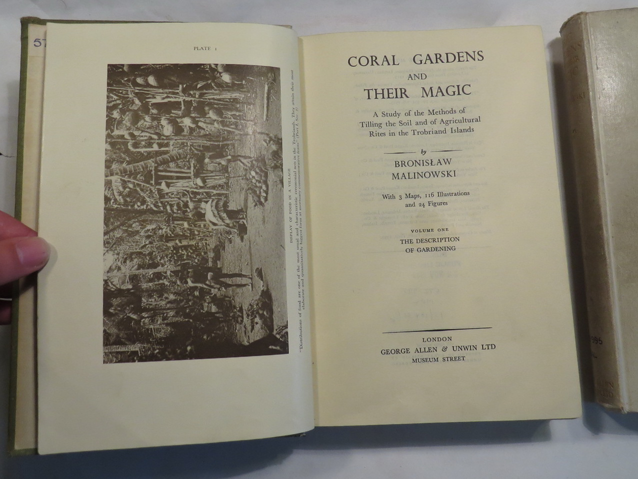 Image for Coral Gardens and Their Magic - A Study of the Methods of Tilling the Soil and of Agricultural Rites in the Trobriand Islands [Two volumes]