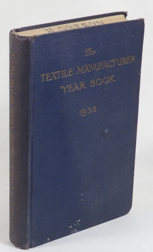 Image for The Textile Manufacturer Year Book 1933