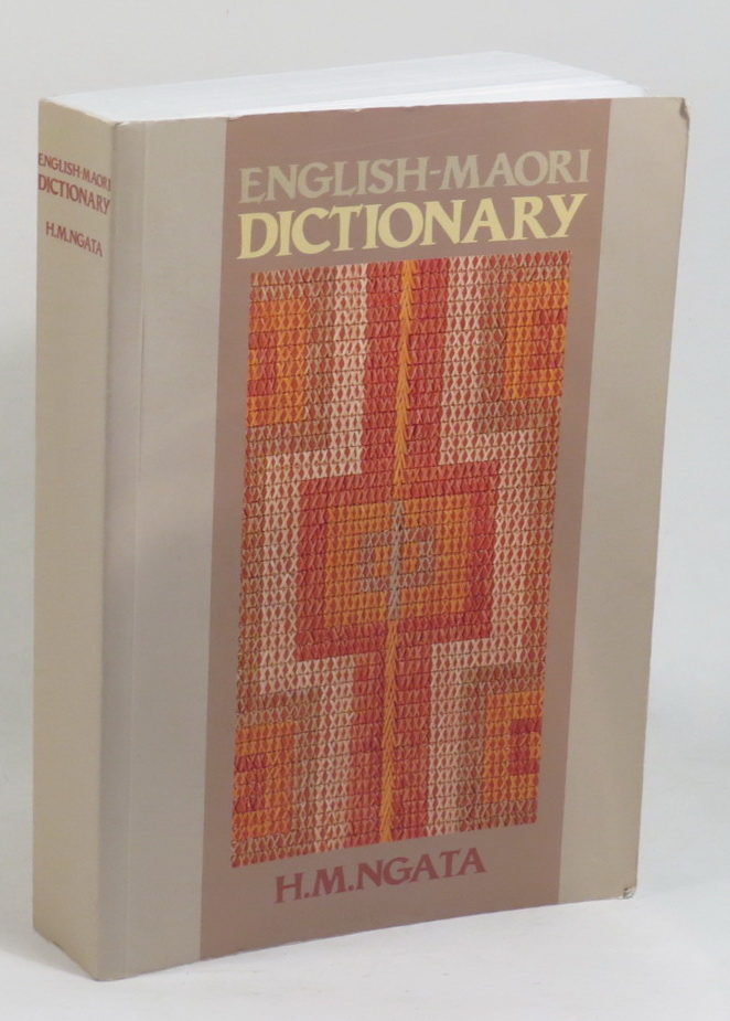 Image for English-Maori Dictionary