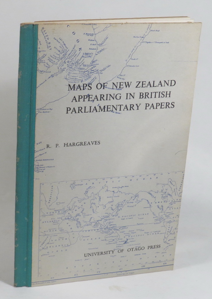 Image for Maps of New Zealand Appearing in British Parliamentary Papers