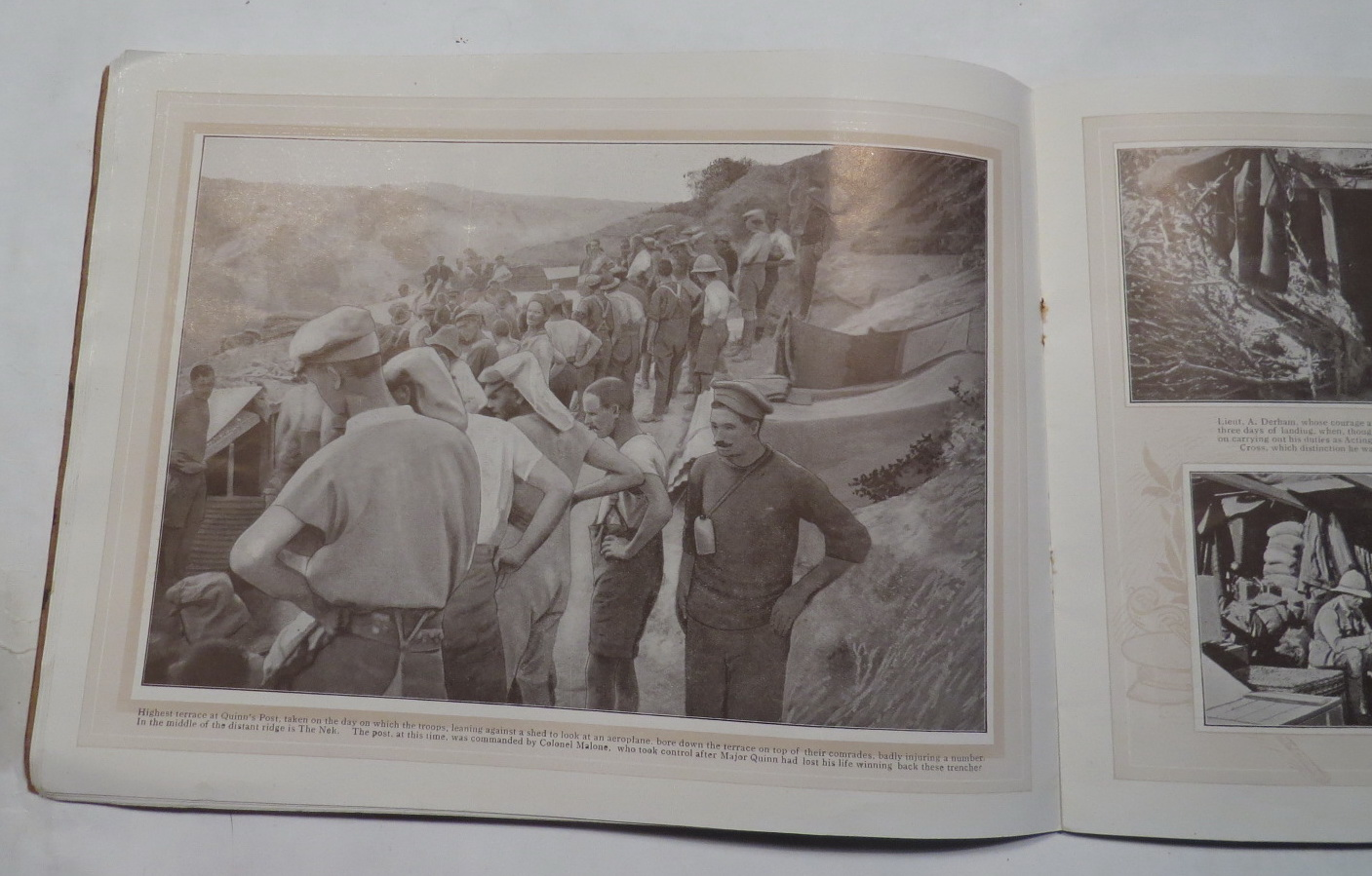Image for The Battlefields of Anzac - A Deeply Interesting and Historical Series of Views Depicting the Heroism of Our Gallant Anzac Boys on the Field of Battle