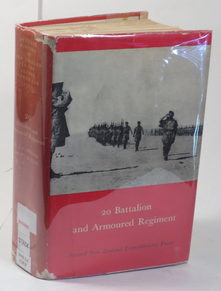Image for 20 Battalion [Series Title: Official History of New Zealand in the Second World War 1939-45]