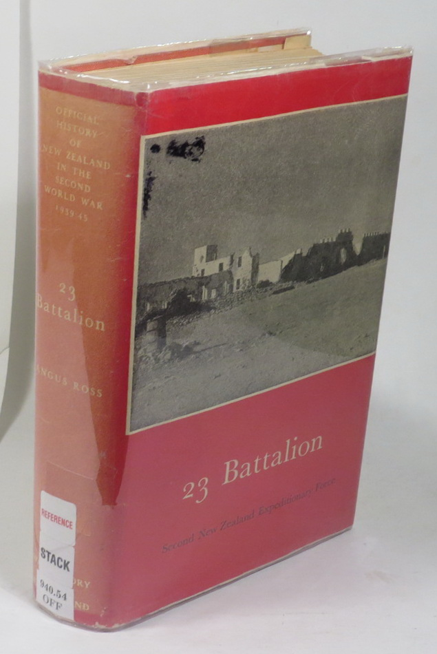Image for 23 Battalion [Series Title: Official History of New Zealand in the Second World War 1939-45]