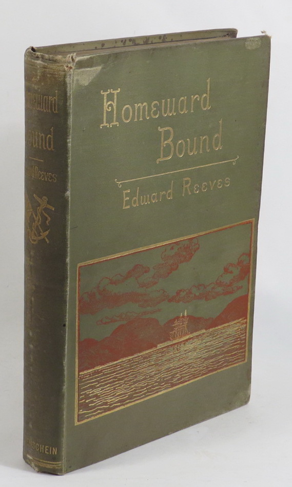 Image for Homeward Bound After Thirty Years - A Colonist's Impressions of New Zealand, Australia, Tangier, and Spain
