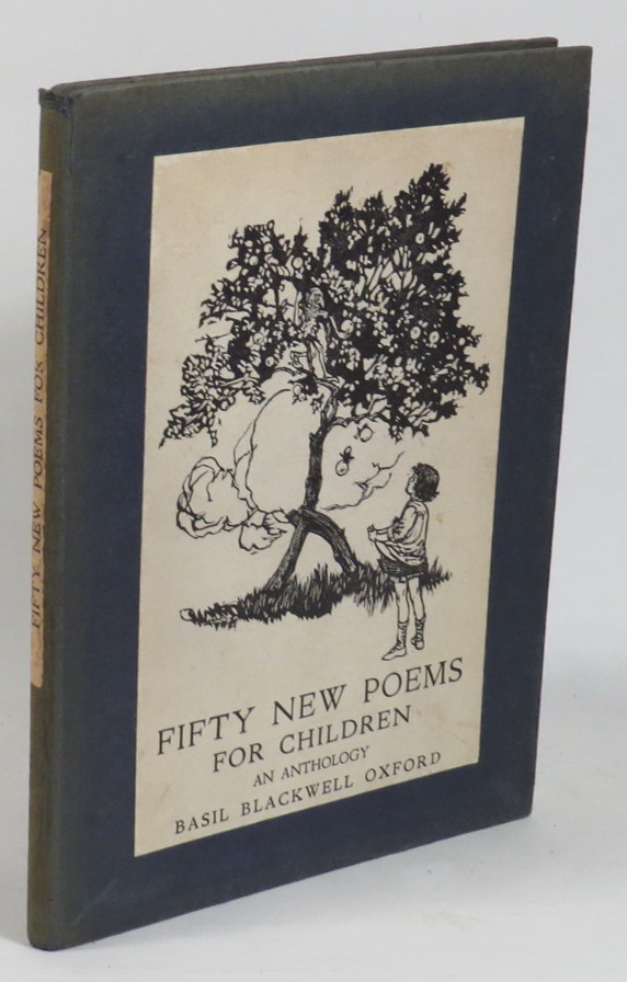 Image for Fifty New Poems for Children - An Anthology Selected from Books Recently Published by Basil Blackwell