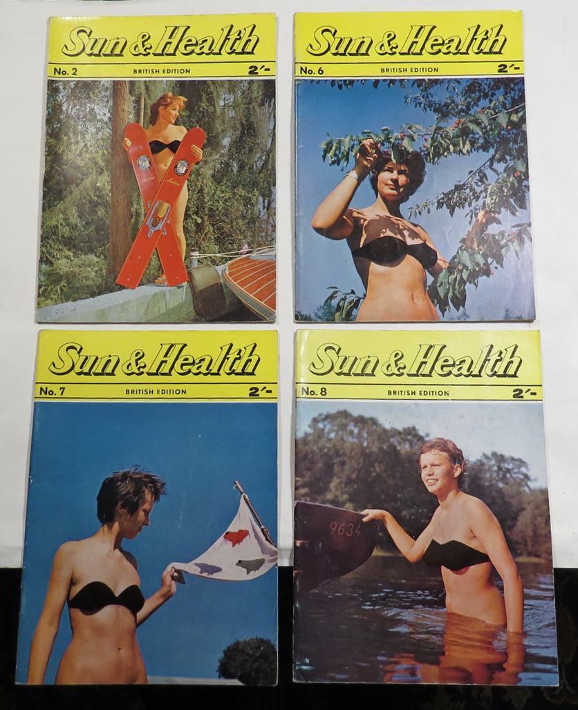 Image for Sun & Health (British Edition). Vol. 1, Nos. 2, 6, 7, 8 [4 issues]