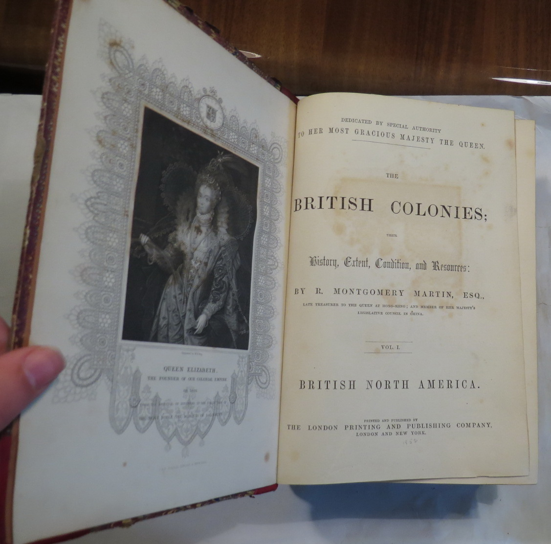 Image for The British Colonies; Their History, Extent, Condition and Resources [6 volumes]